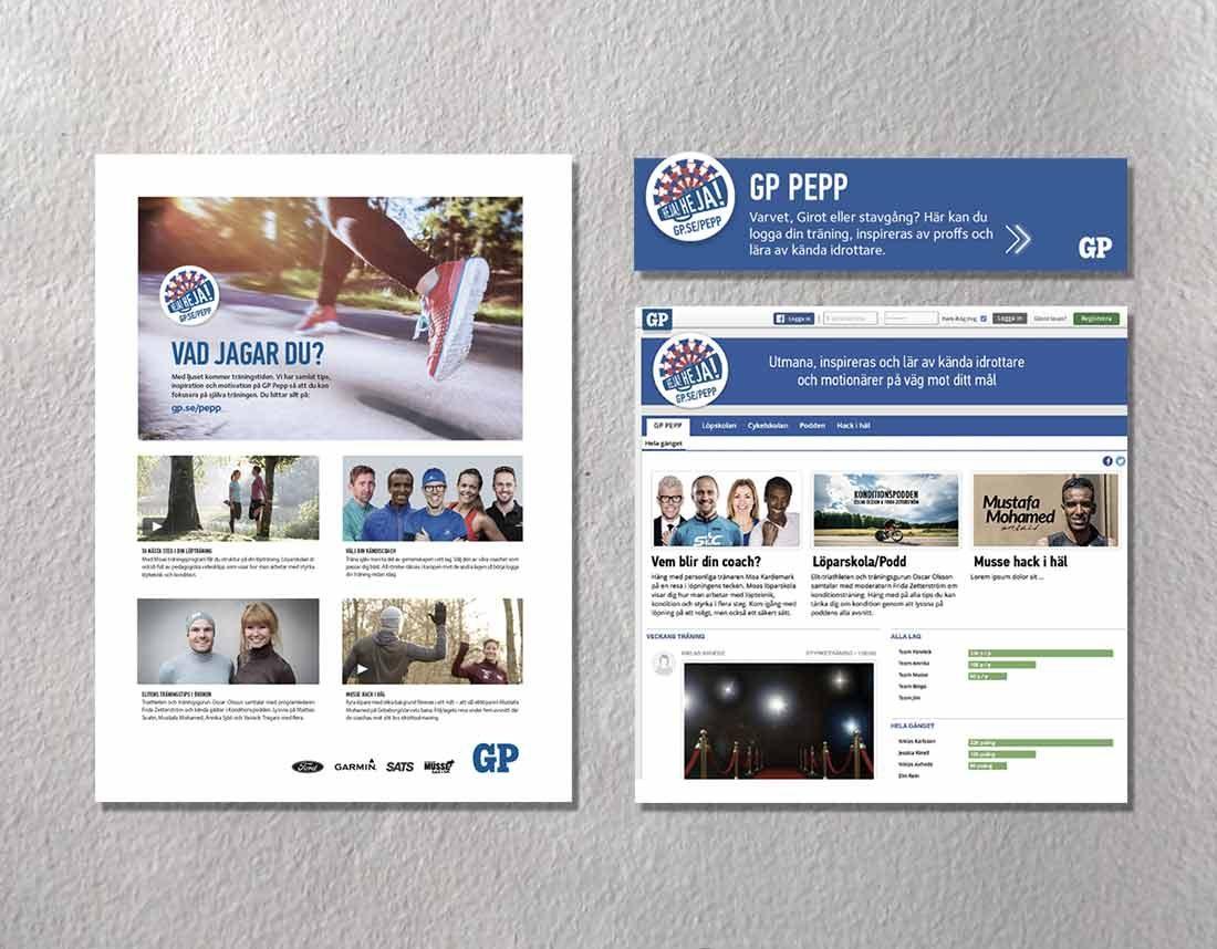 PEPP - annons och hemsida
