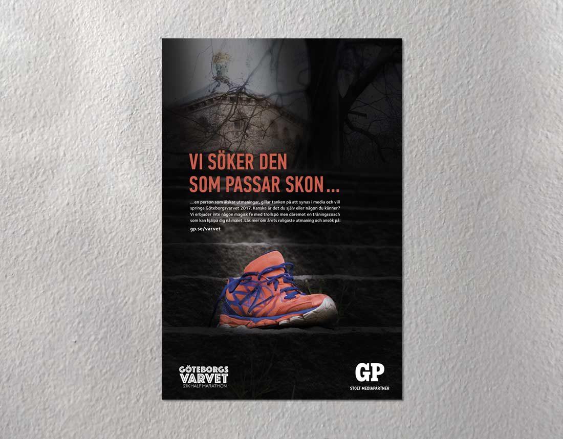 Annons - Uttagning av tävlande