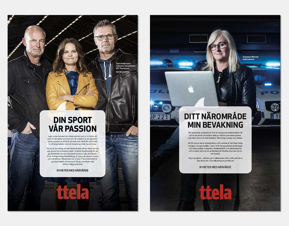 Annonser med journalister som jobbar på TTELA