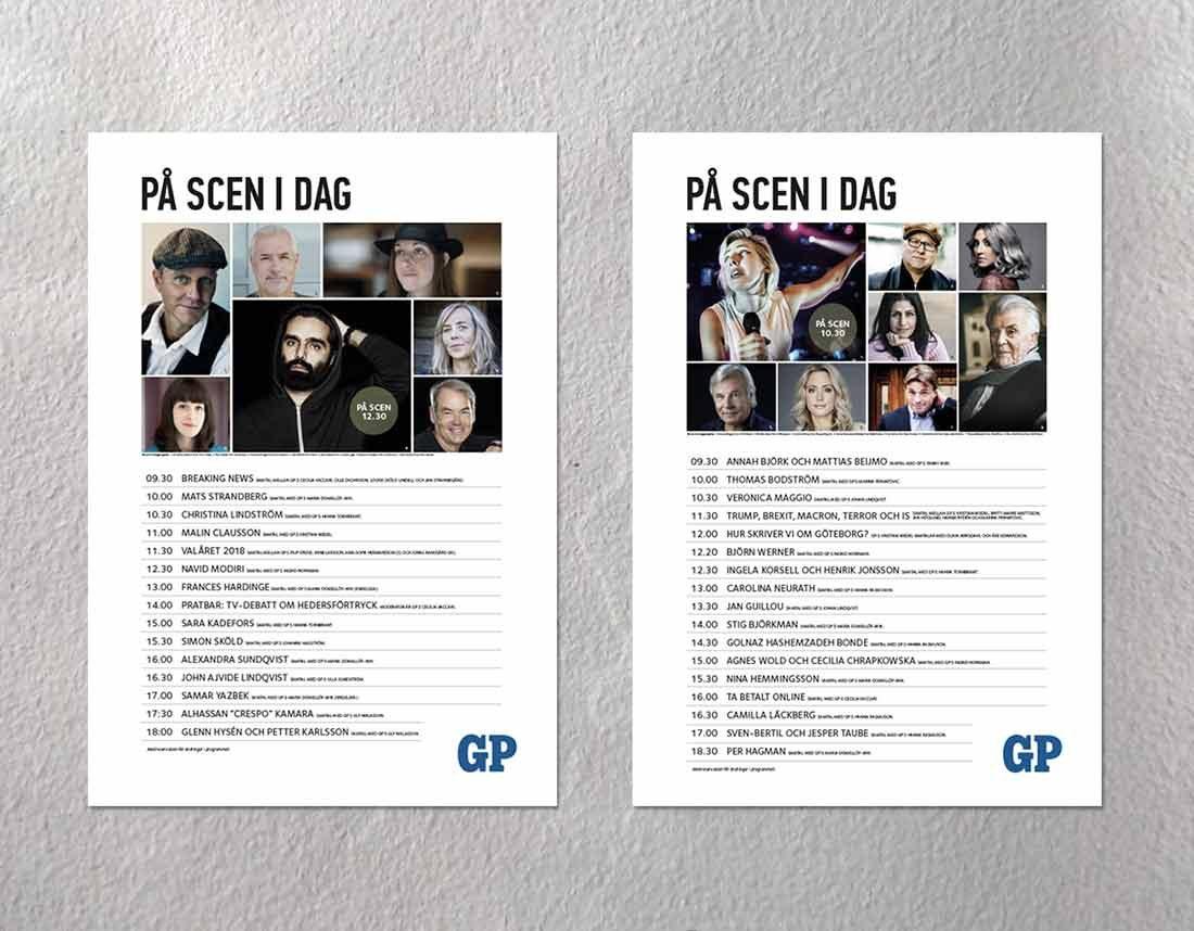 Scenprogram – GP på bokmässan