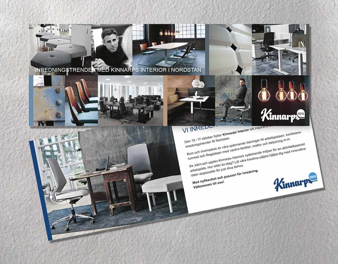 Kinnarps - Inbjudan till showroom i Nordstan
