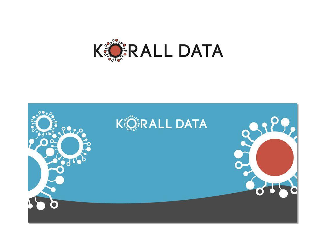 Korall Data –Logotyp och mässdisk