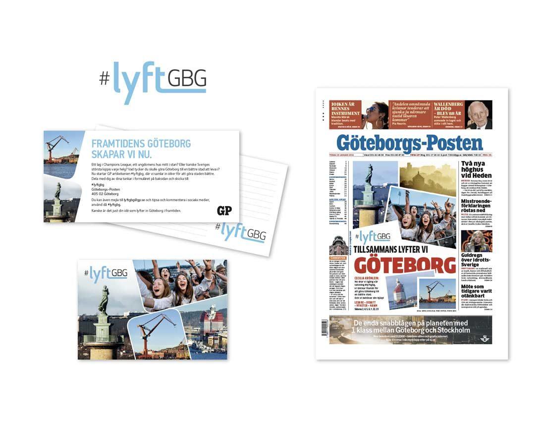 Logotyp och material #LyftGBG