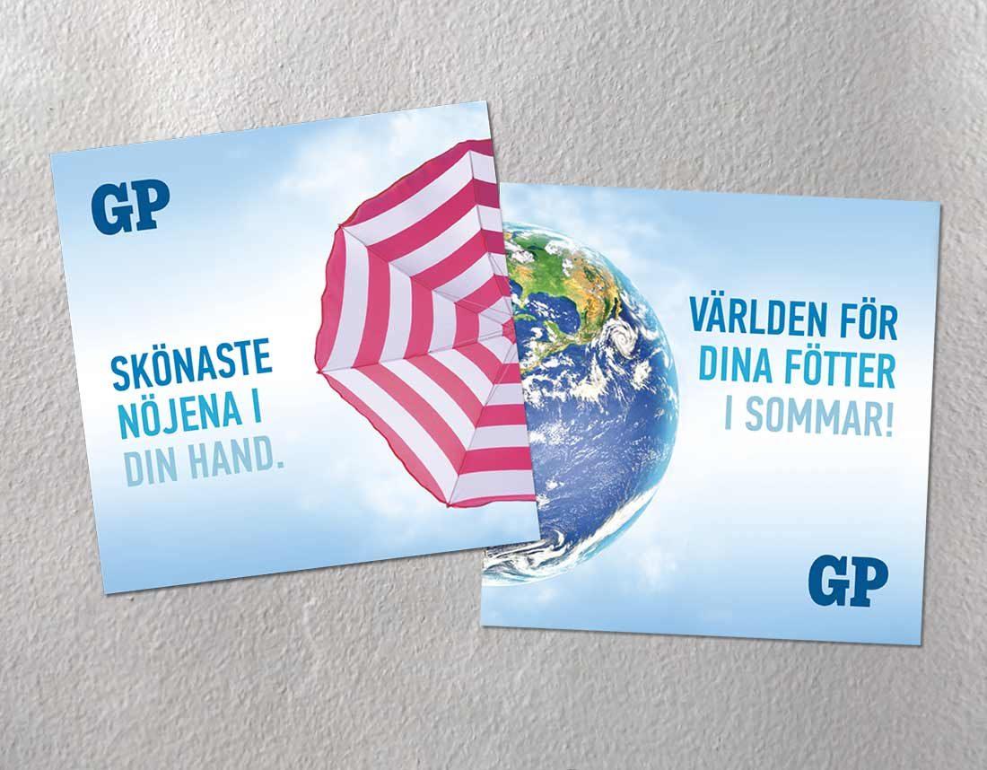 ADR för sommarkampanj , Göteborgs-Posten