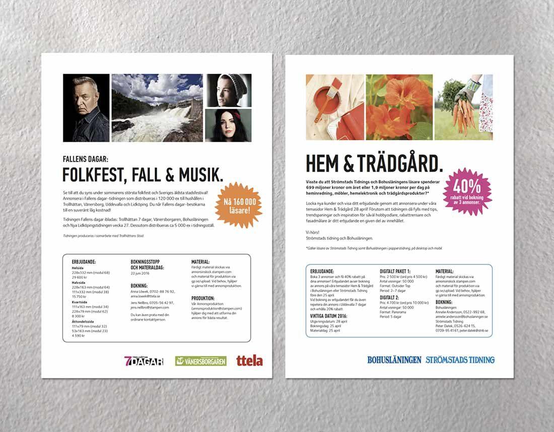 Säljbrev för Annonsering i lokaltidningar