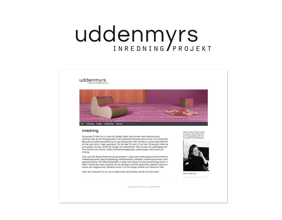 Uddenmyrs – Inredning och Projekt